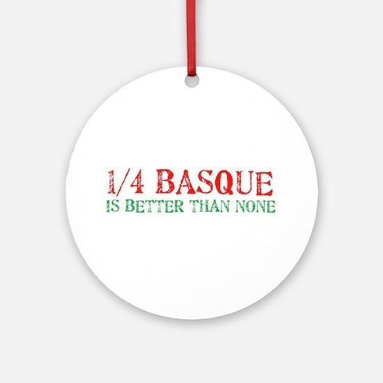 Quarter Basque Ornament (Round)