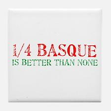 Quarter Basque Tile Coaster