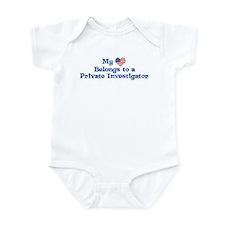 My Heart: Private Investigato Infant Bodysuit