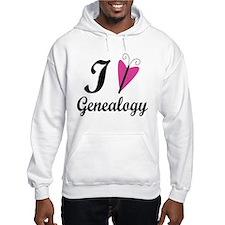 I Heart Genealogy Hoodie