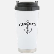 First Mate Stainless Steel Travel Mug