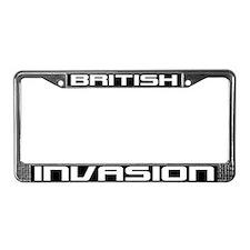British Invasion License Plate Frame