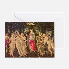 Primavera by Botticelli Greeting Card