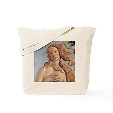 Birth of Venus by Botticelli Tote Bag