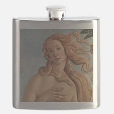 Birth of Venus by Botticelli Flask