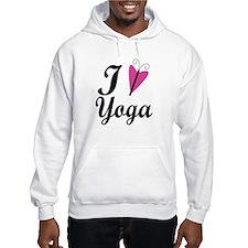 I Love Yoga Hoodie