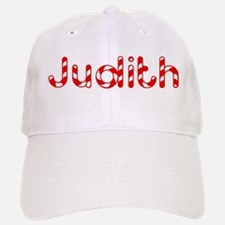Judith - Candy Cane Baseball Baseball Cap