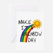 Rainbow Day Greeting Card