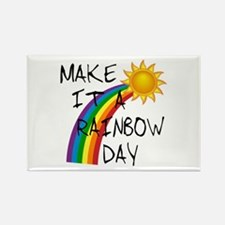 Rainbow Day Rectangle Magnet