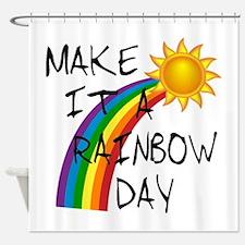 Rainbow Day Shower Curtain