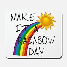 Rainbow Day Mousepad
