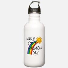Rainbow Day Sports Water Bottle