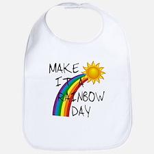 Rainbow Day Bib