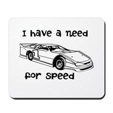 i have a need for speed Mousepad