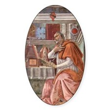 Augustine of Hippo by Botticelli Decal