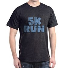 5K Run Blue T-Shirt