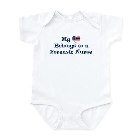 My Heart: Forensic Nurse Infant Bodysuit