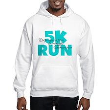 5K Run Aqua Hoodie