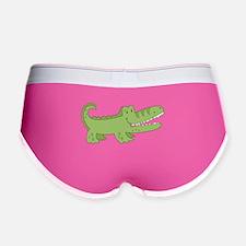 Cutest Green Alligator Women's Boy Brief