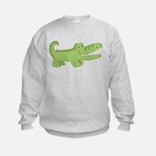 Cutest Green Alligator Sweatshirt