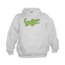 Cutest Green Alligator Hoodie