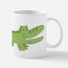 Cutest Green Alligator Mug