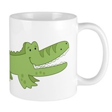 Cutest Green Alligator Mug