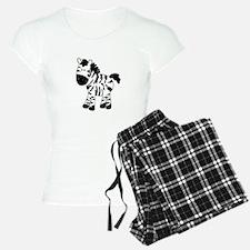 Zebra Standing Up Pajamas