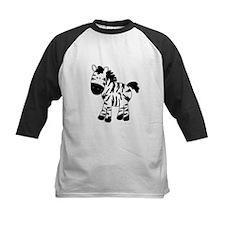 Zebra Standing Up Baseball Jersey