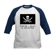 Jolly Roger Talk Like a Pirate Tee