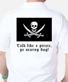 Jolly Roger Talk Like a Pirate T-Shirt