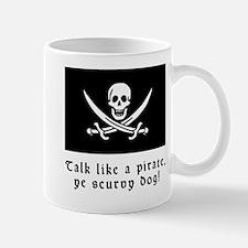 Jolly Roger Talk Like a Pirate Mug
