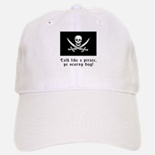 Jolly Roger Talk Like a Pirate Baseball Baseball Cap
