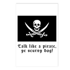 Jolly Roger Talk Like a Pirate Postcards (Package