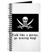 Jolly Roger Talk Like a Pirate Journal