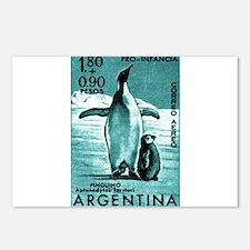 1961 Emperor Argentina Penguins Postage Stamp Post