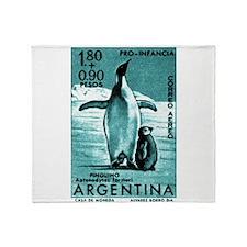 1961 Emperor Argentina Penguins Postage Stamp Thro