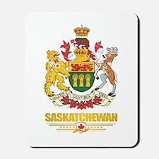 Saskatchewan Coat of Arms Mousepad