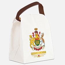 Saskatchewan Coat of Arms Canvas Lunch Bag