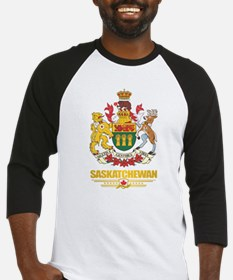 Saskatchewan Coat of Arms Baseball Jersey