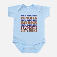 Teacher Retirement Gift Idea Infant Bodysuit
