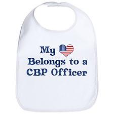 My Heart: CBP Officer Bib
