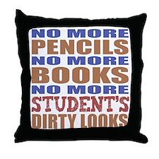 Teacher Retirement Gift Idea Throw Pillow