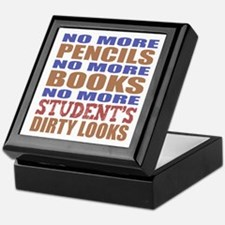 Teacher Retirement Gift Idea Keepsake Box