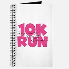 10K Run Pink Journal