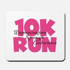 10K Run Pink Mousepad