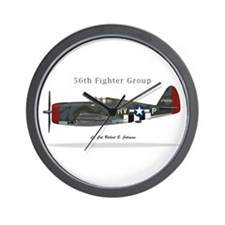 p47c_RJohnson_rgb Wall Clock