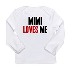 Mimi loves me Long Sleeve T-Shirt