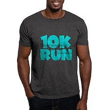 10K Run Aqua T-Shirt