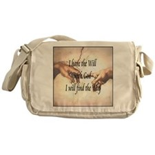 Will With God Messenger Bag